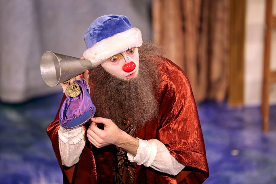 Arlecchino as Vincentio in Wallbyrd's Taming of the Shrew